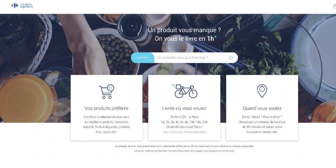 Carrefour se lance dans la guerre de la livraison expresse