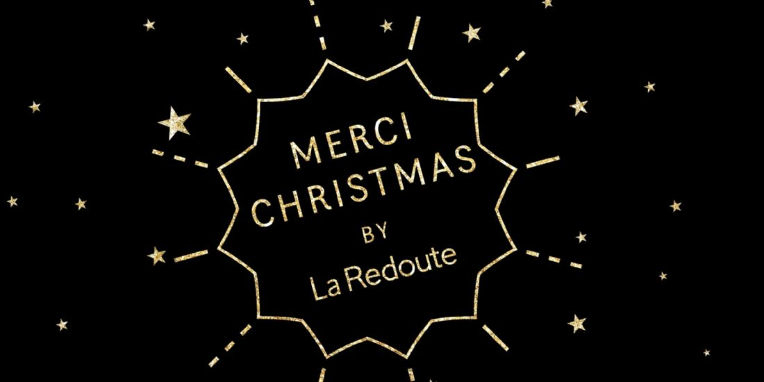La Redoute lance un concept unique ' Merci Christmas ' autour du Black Friday et de Noël