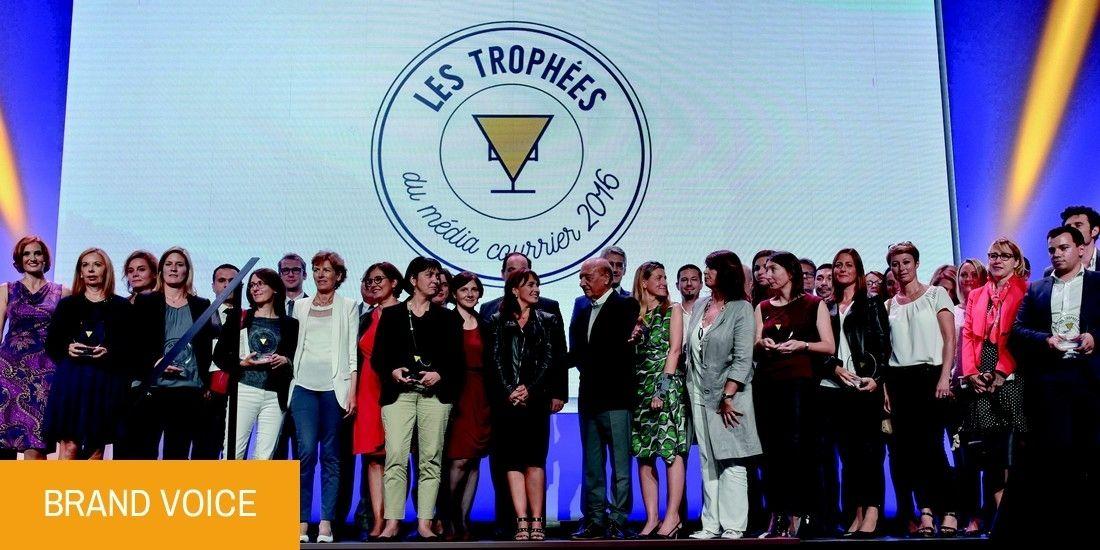 """Trophées du Média Courrier 2016 : une édition en """" créativité augmentée """""""