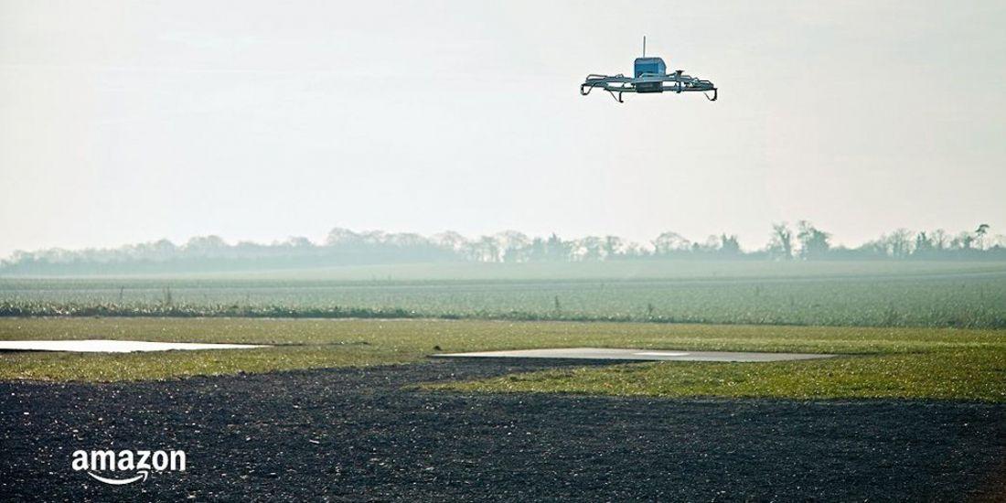 Première livraison réussie pour le drone d'Amazon Prime Air