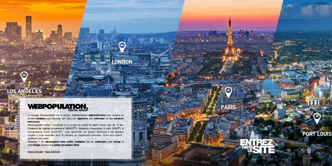 [One to One Monaco 2016] Webpopulation : une délégation e-commerce complète