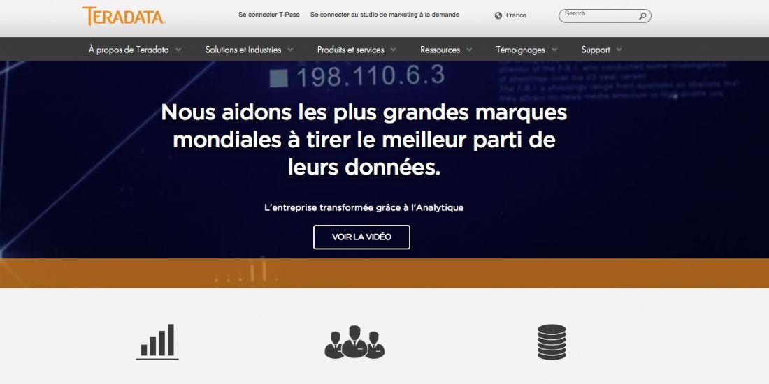 [One to One Monaco 2016] Teradata Applications : des solutions pour gagner en efficacité !