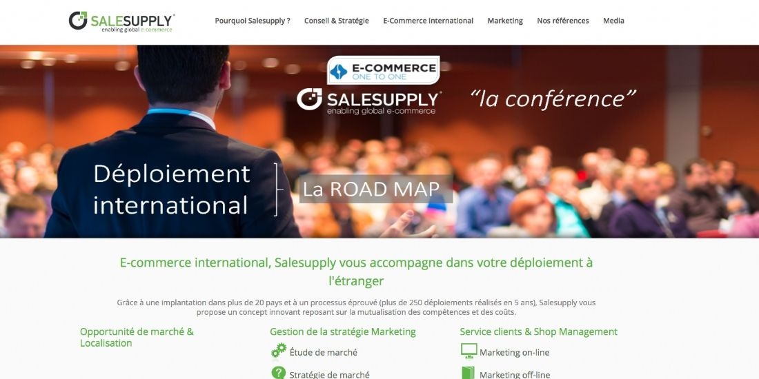 [One to One Monaco 2016] Salesupply : spécialiste du développement international