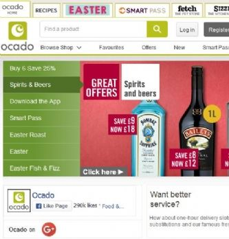 #EC1to1 : Ocado, acteur phare de l'e-commerce alimentaire britannique