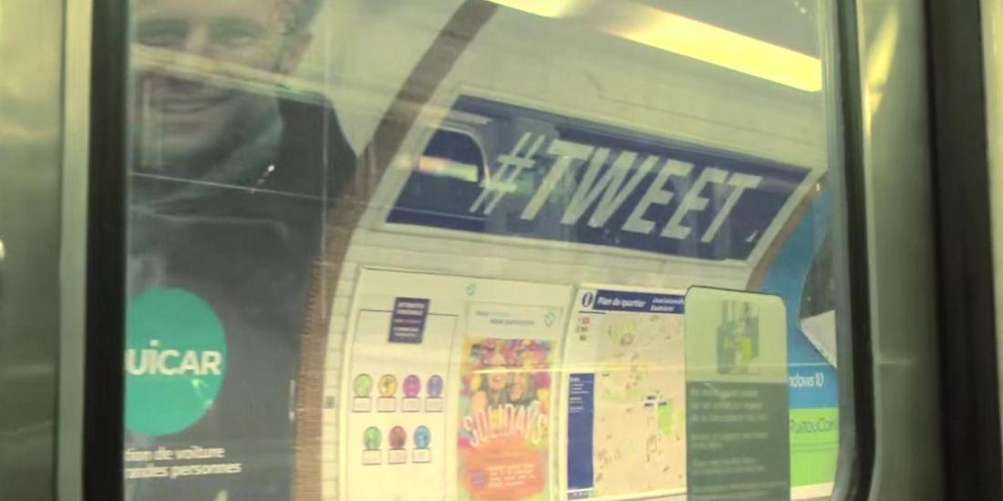 Poisson d'avril : la RATP fait le buzz avec son opération décalée