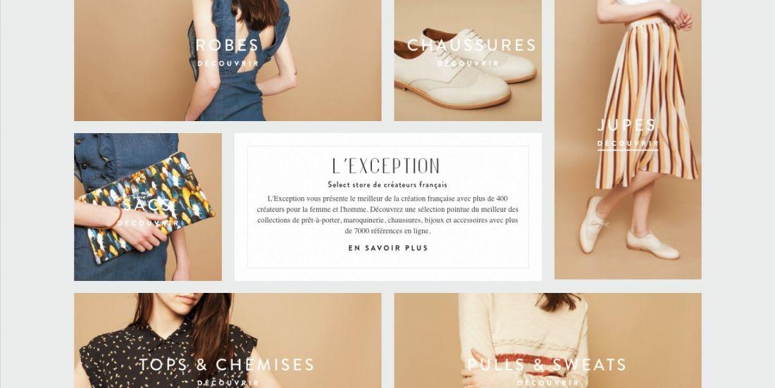 Fraude en ligne: l'e-shop de mode française L'Exception dresse un rempart