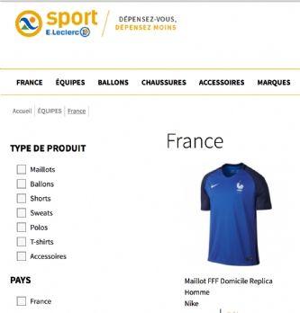 Coup d'envoi du site Sport Leclerc