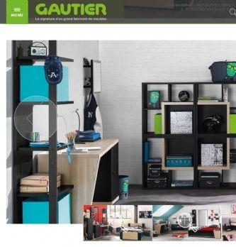 Gautier se lance dans l'e-commerce