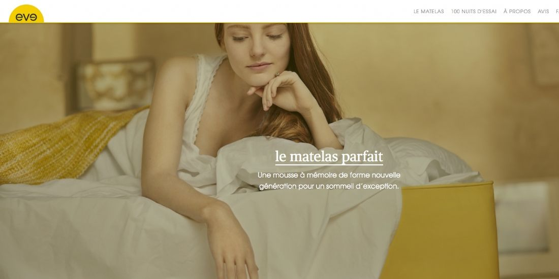 La start-up Eve Sleep casse les codes du marché de la literie