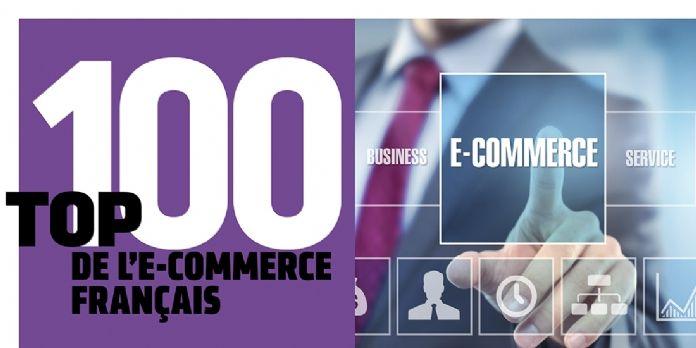 Infographie : le top 100 de l'e-commerce français
