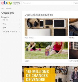 eBay accélère sur l'occasion et l'International
