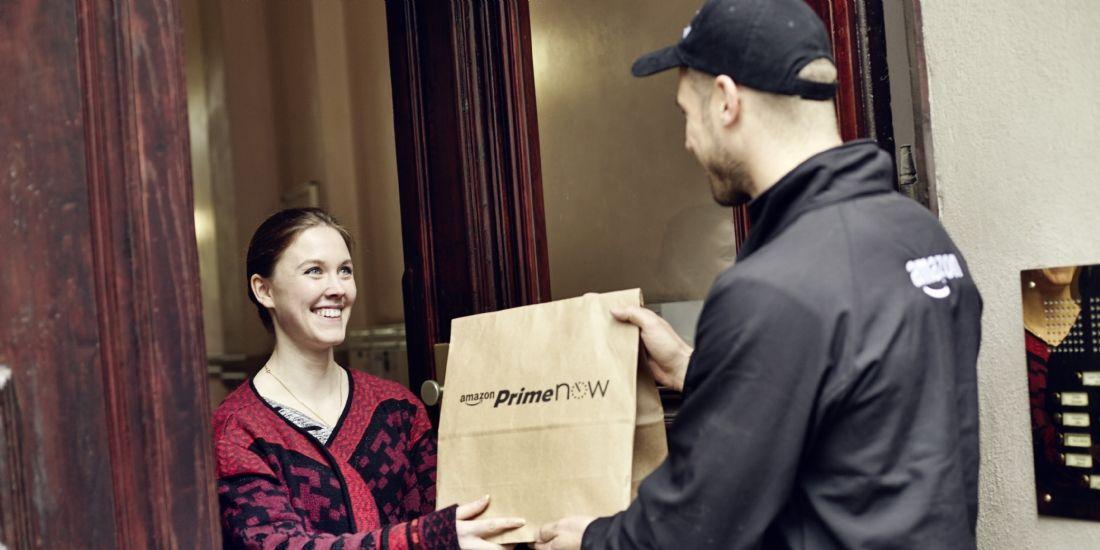 Amazon lance Prime Now, une livraison en une heure à Paris