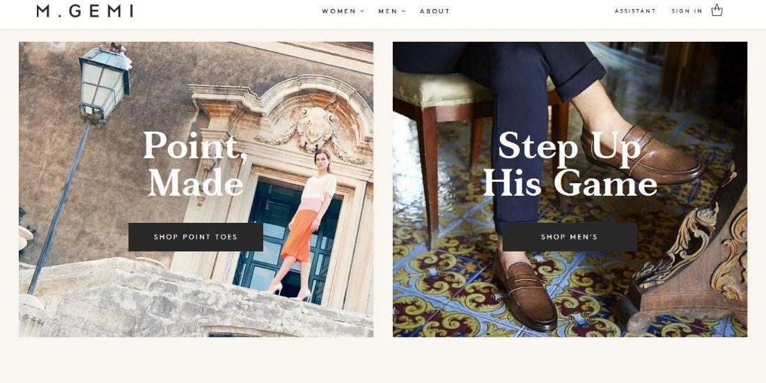 """M.Gemi : le site de chaussures qui mise sur la """"marque Italie"""""""