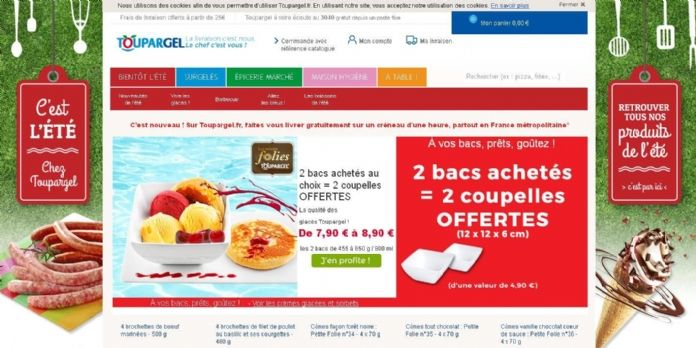 Toupargel s'installe sur la marketplace d'Amazon