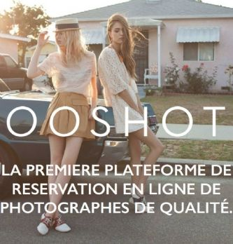Zoom sur Ooshot, le futur booking de la photo