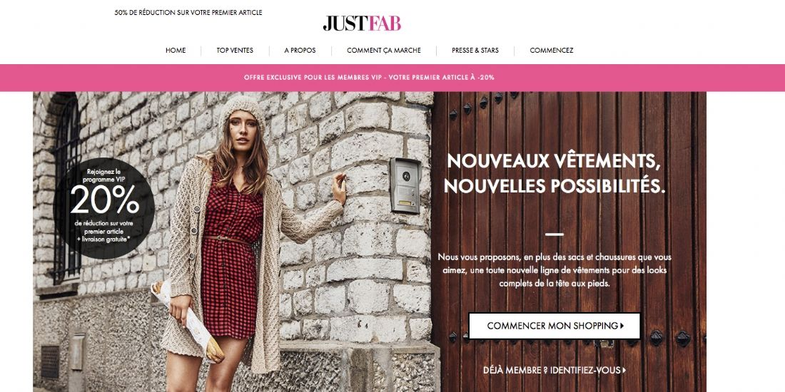JustFab renforce ses positions en Europe