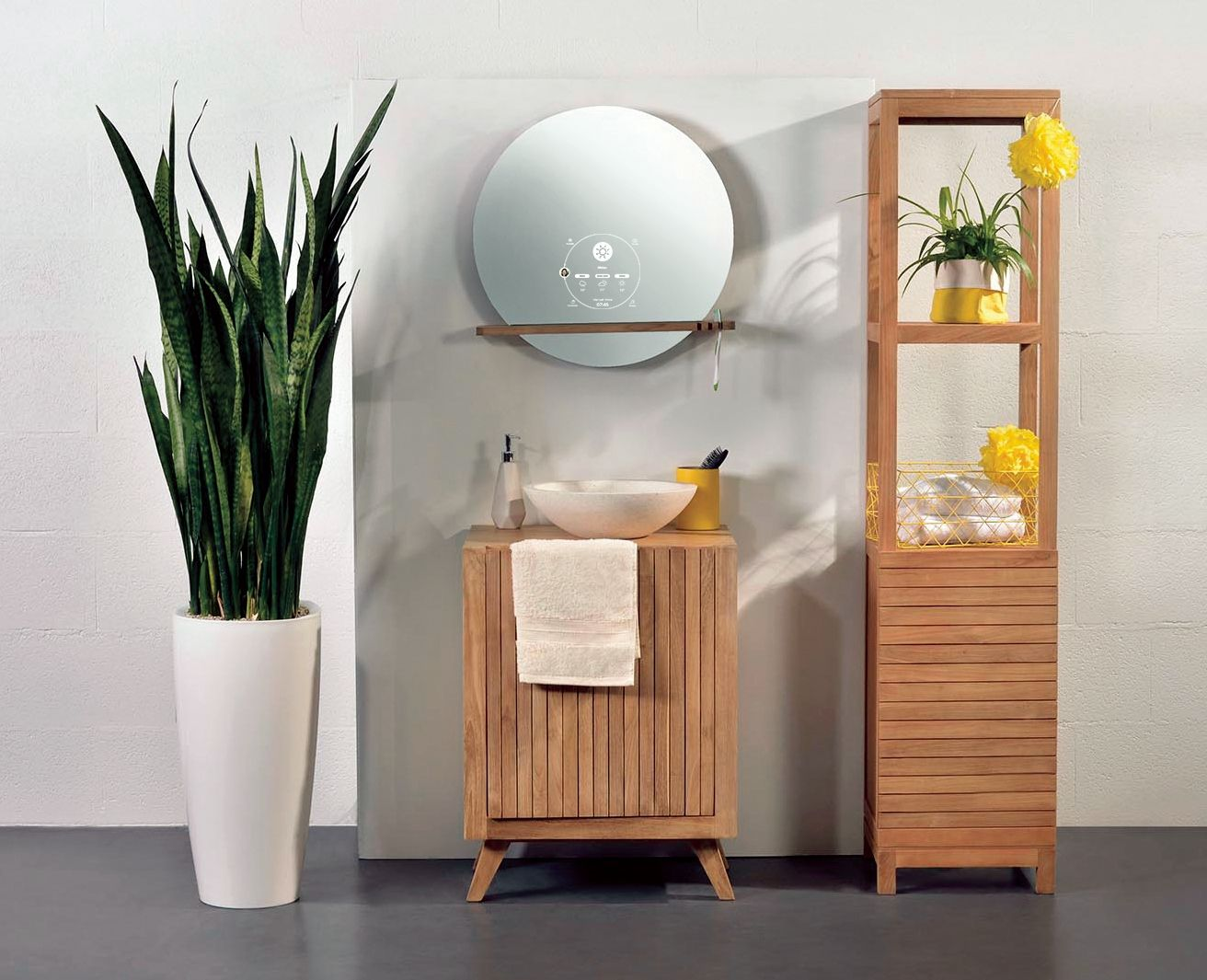 Miliboo pr sente son miroir connect for Miroir connecte