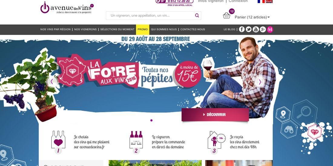 Avenue des Vins connecte les vignerons français aux amateurs de toute l'Europe