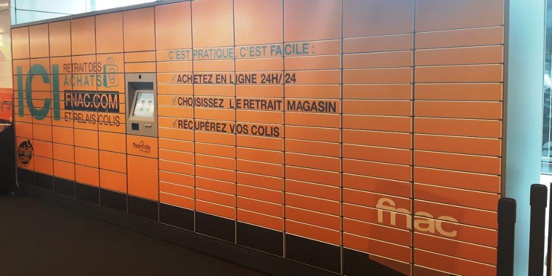 La Fnac propose le retrait d'achats en ligne en consignes automatiques