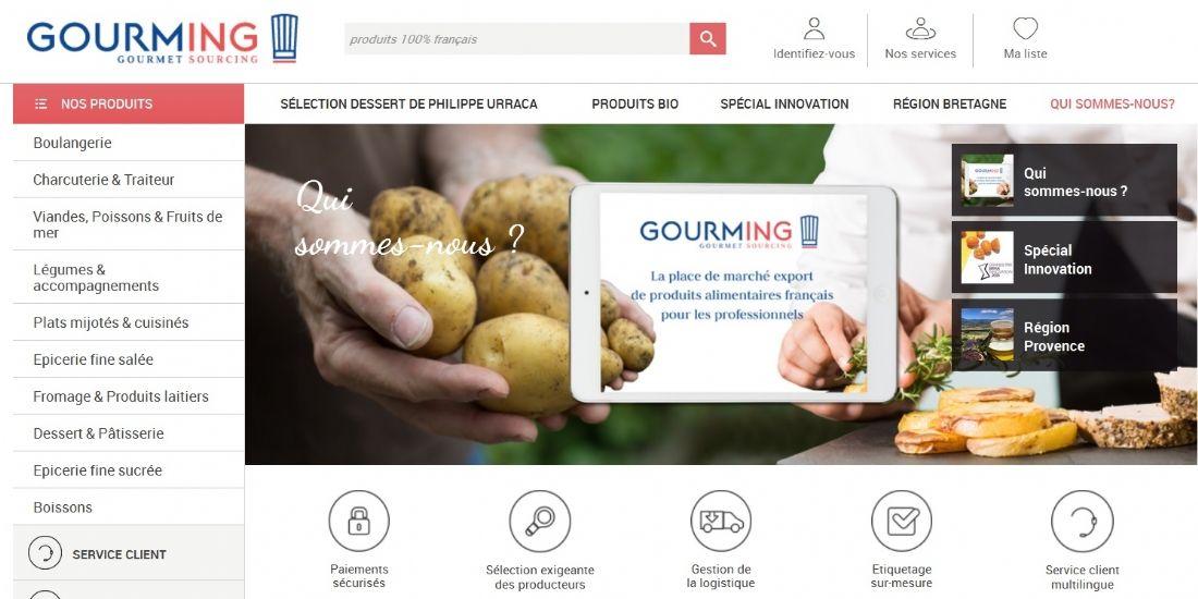 Gourming, la marketplace pour les producteurs et artisans de la gastronomie française