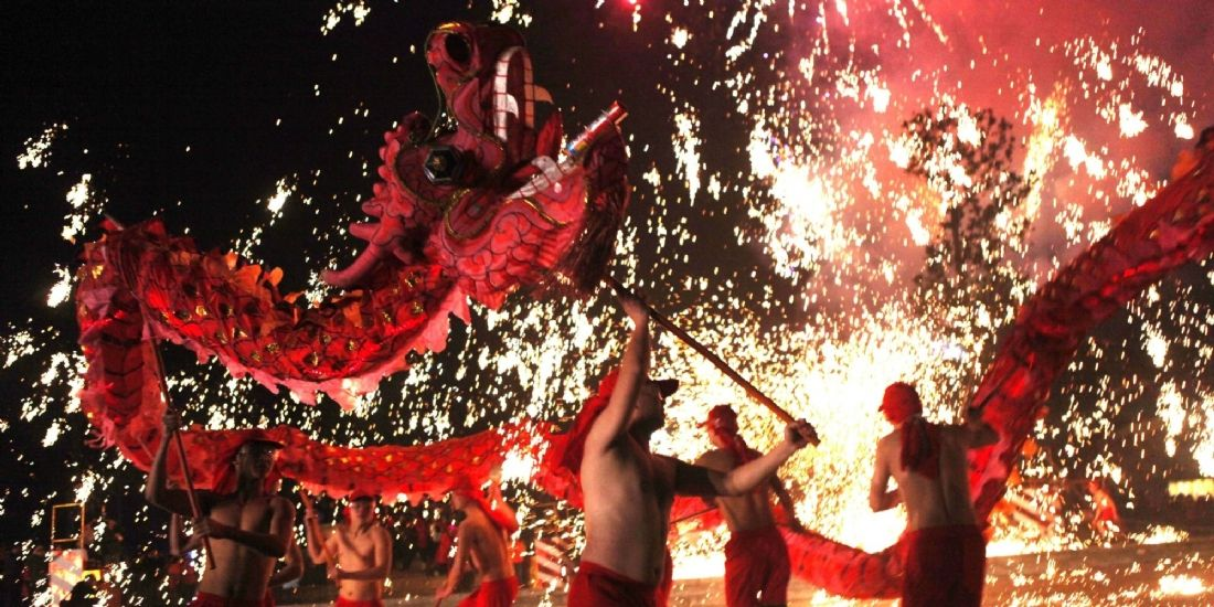 Le Nouvel An chinois ne craint pas la démesure