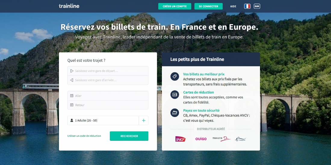 Trainline poursuit son internationalisation