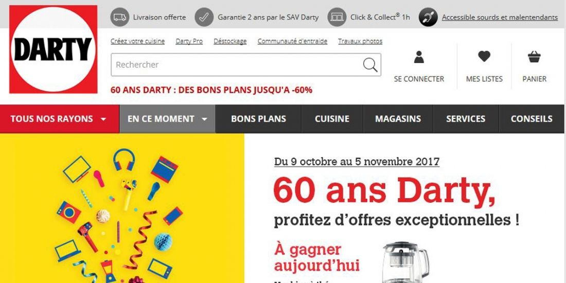 Fnac Darty lance son programme omnicanal Darty+