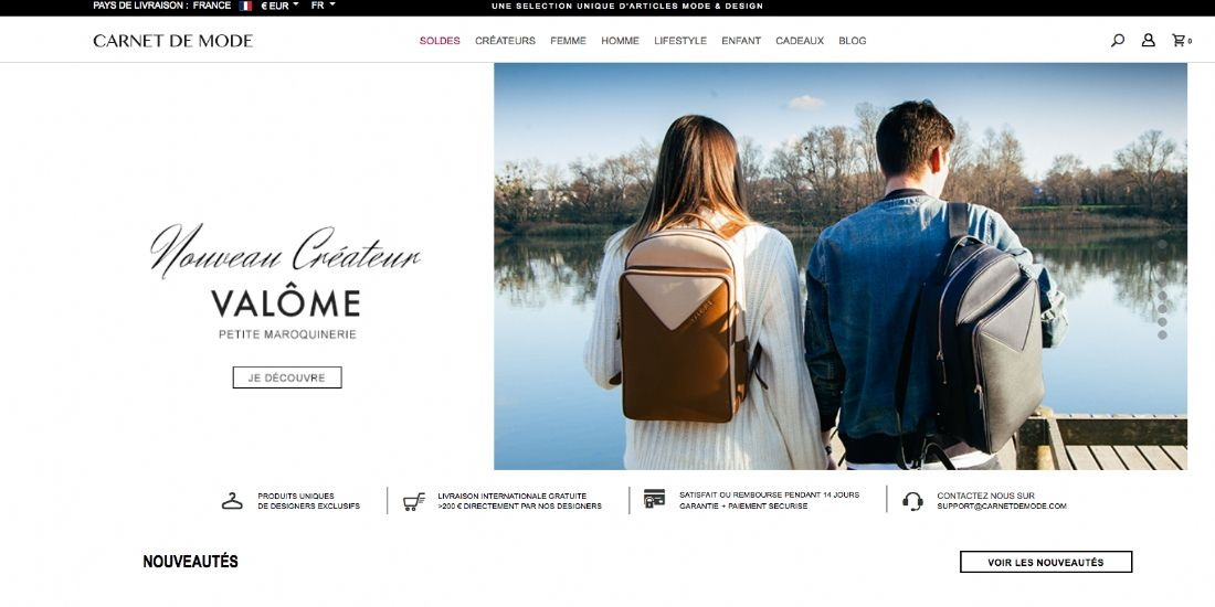 Bagora fait l'acquisition de Carnet de Mode