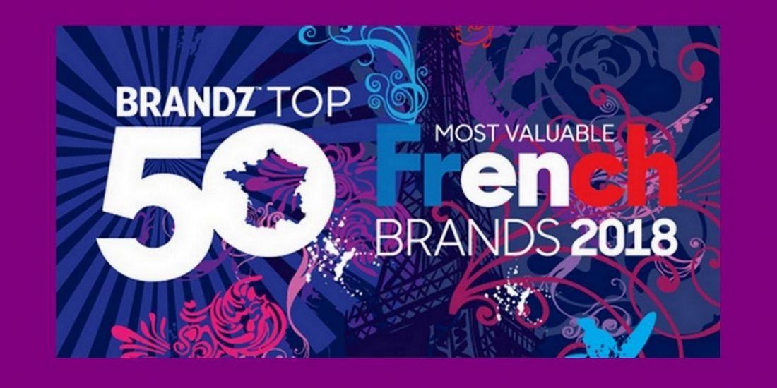 Quelles sont les 50 marques françaises les mieux valorisées dans le monde?