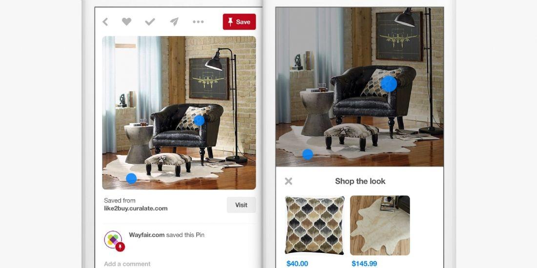 Pinterest facilite l'achat de produits sur sa plateforme