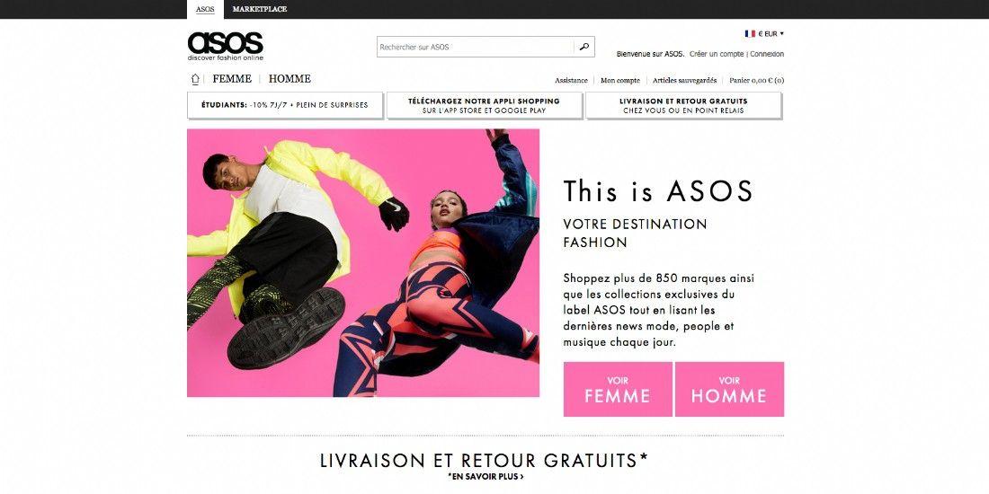 Asos revient en France après deux ans d'absence
