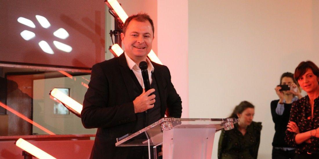 Antoine Jouteau lors de la présentation des résultats 2016 de LeBonCoin