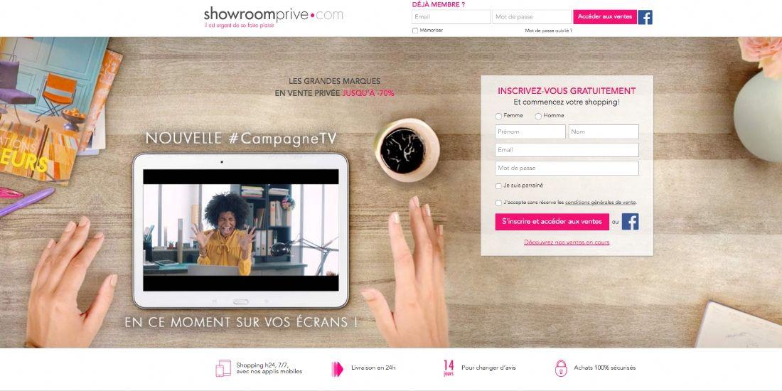 Showroomprivé signe une belle année 2016 et se positionne sur les digital women