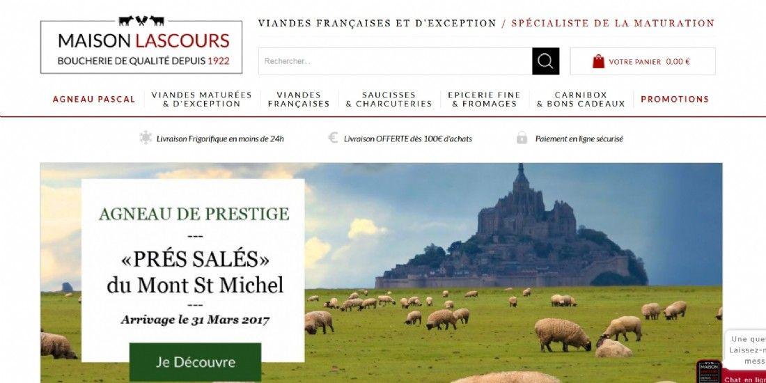 Maison-Lascours.fr, quand la boucherie traditionnelle se décline en ligne