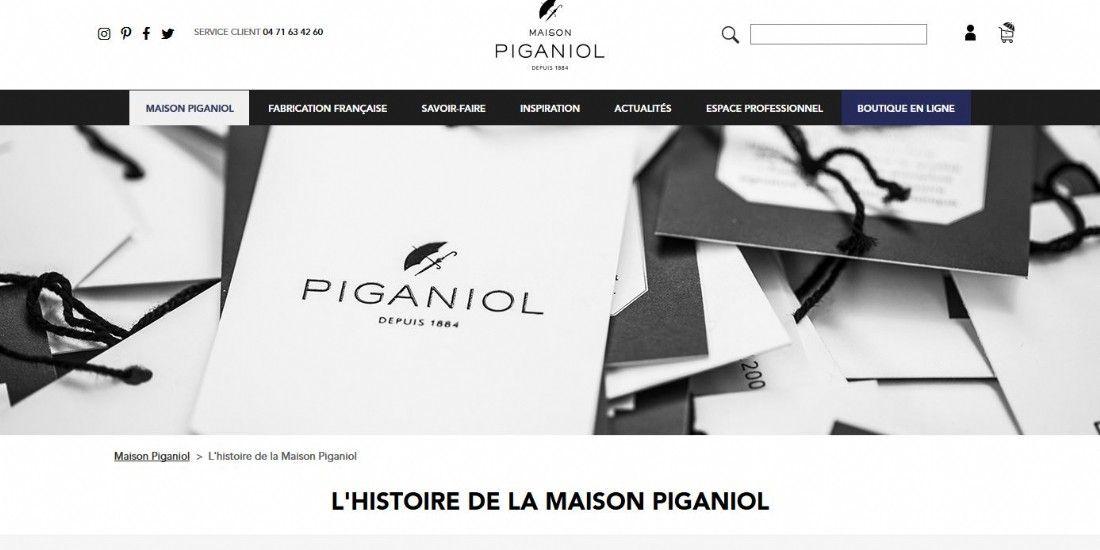 Les parapluies Piganiol se déploient en ligne sous la bannière Made in France