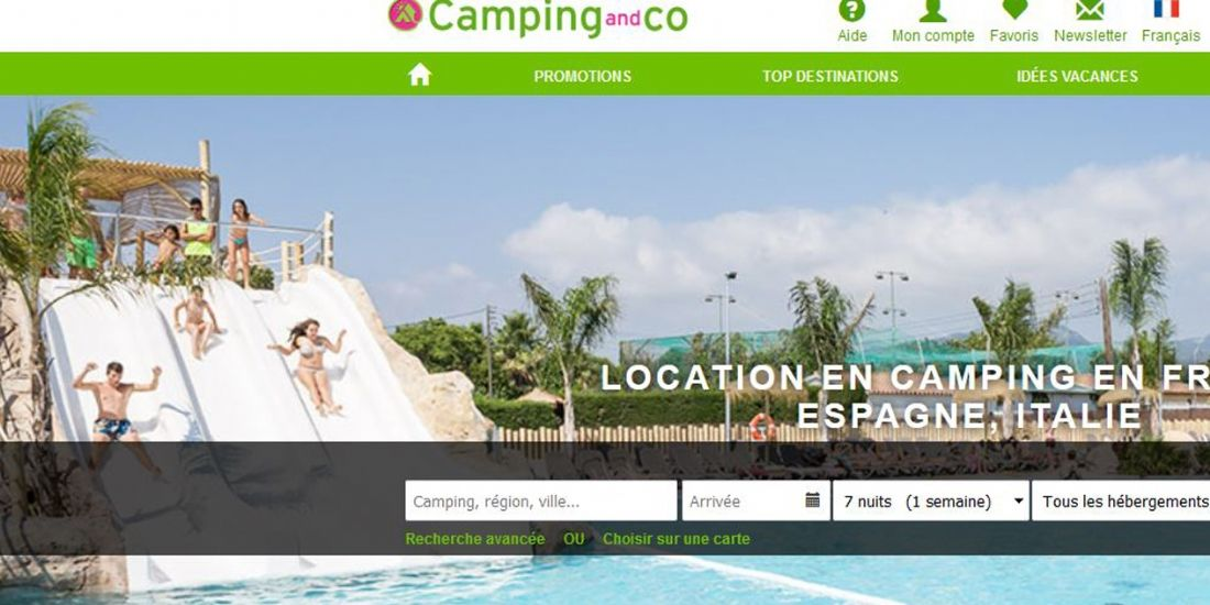 Fusion de Camping and Co et Campsy
