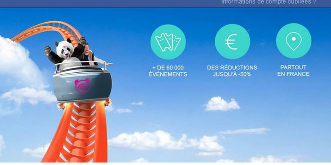 Vente-privée lance Panda-ticket.com, un site de bons plans billetterie