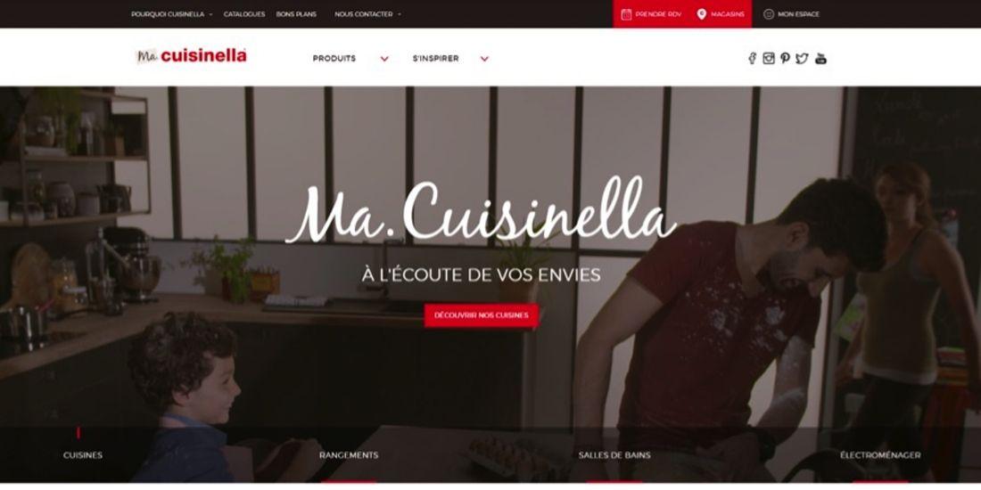 Cuisinella mitonne une nouvelle plateforme web