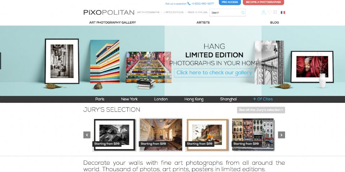 Pixopolitan exporte ses photographies d'art à New York