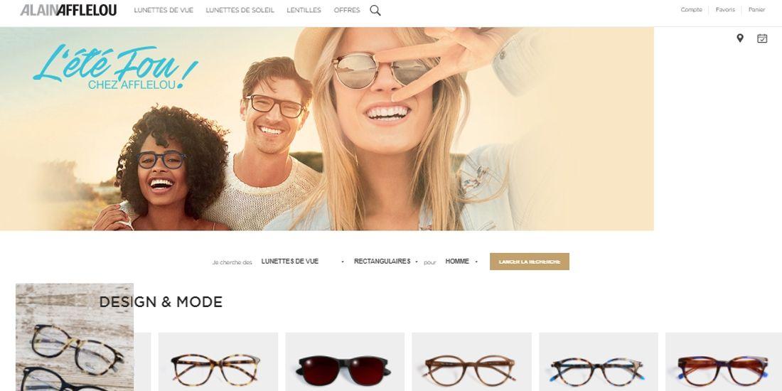 Afflelou.com voit les choses en grand