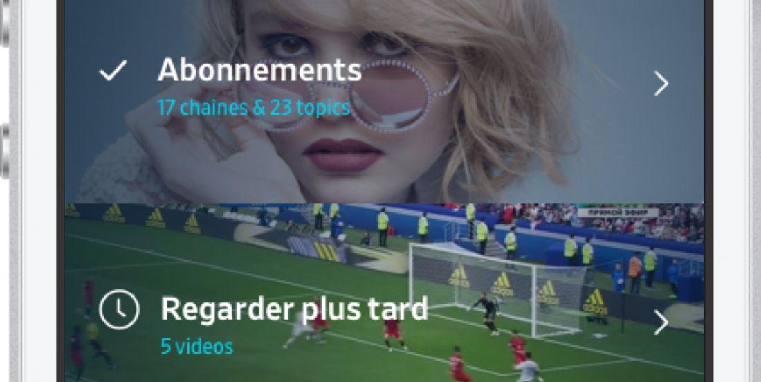 Dailymotion lance une nouvelle appli plus intuitive