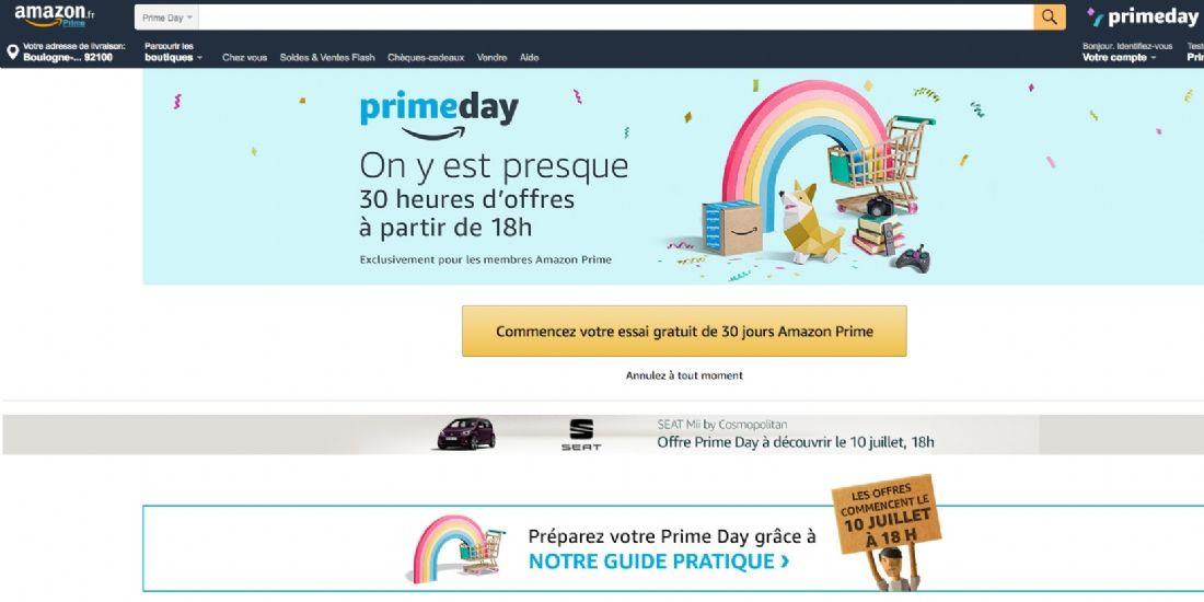 Amazon Prime Day, une avalanche de promotions et la réponse de Monoprix