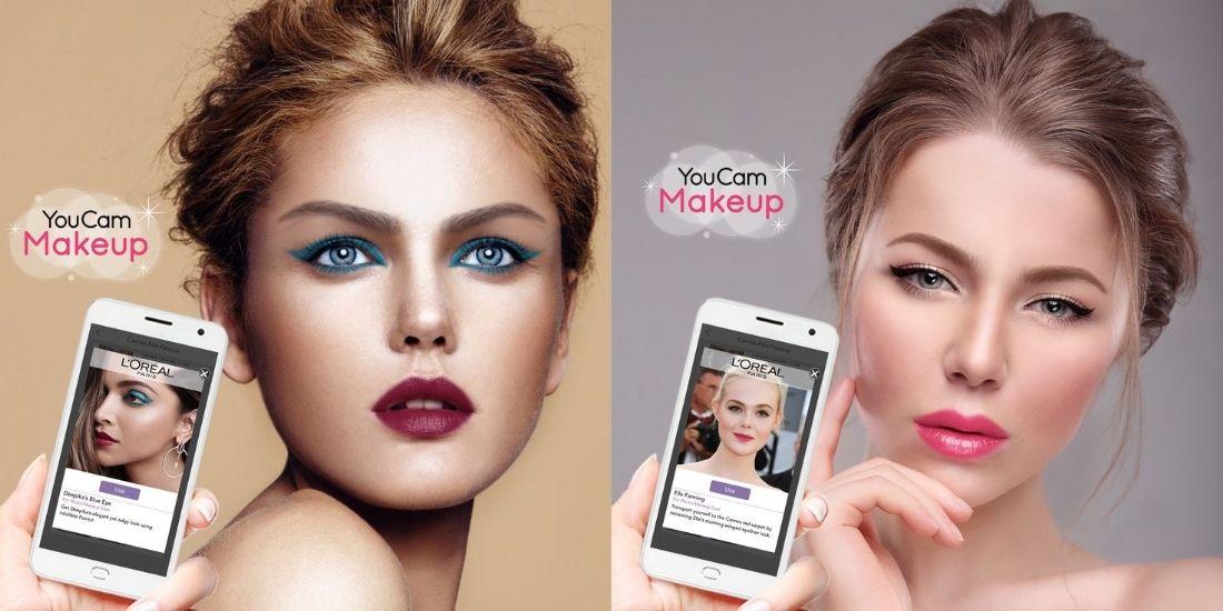 Réalité augmentée : l'Oréal arrive sur YouCam Makeup