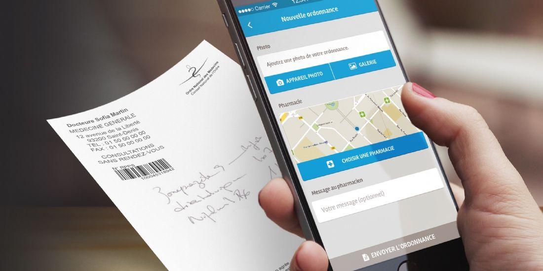 Doctipharma lance l'appli 'Envoi ordonnance'