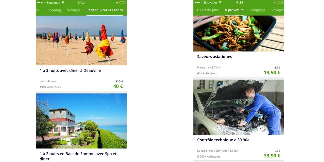 Groupon : first sur le mobile