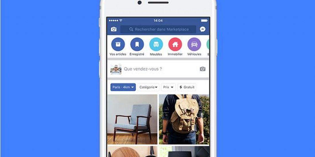 Facebook étend sa marketplace en France