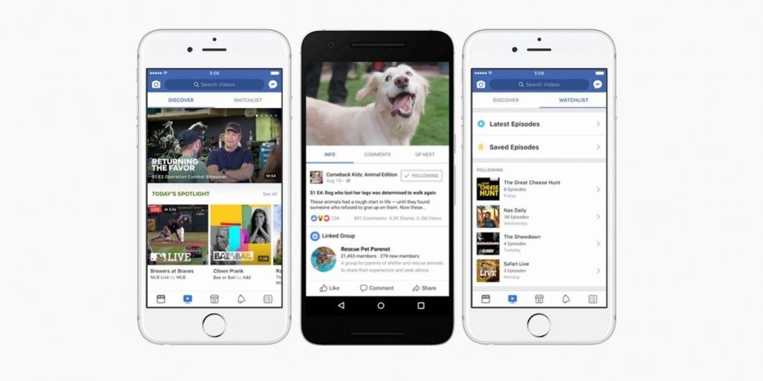Facebook déploie Watch aux Etats-Unis