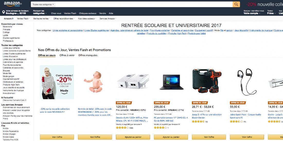 Amazon est de retour sur les bancs de l'école