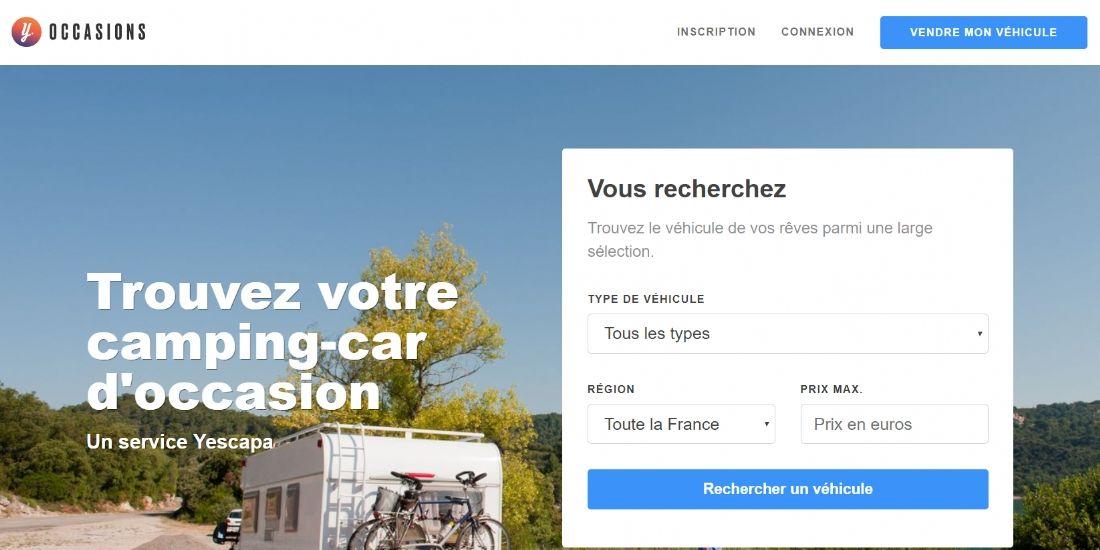 Yescapa lance une marketplace dédiée aux véhicules de loisirs