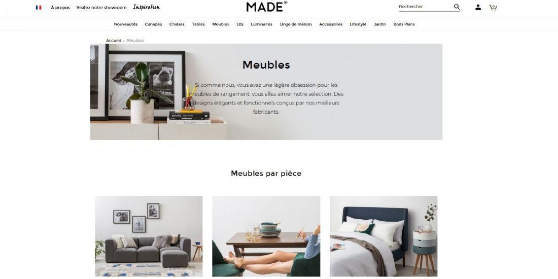 Made.com se lance sur le marché espagnol
